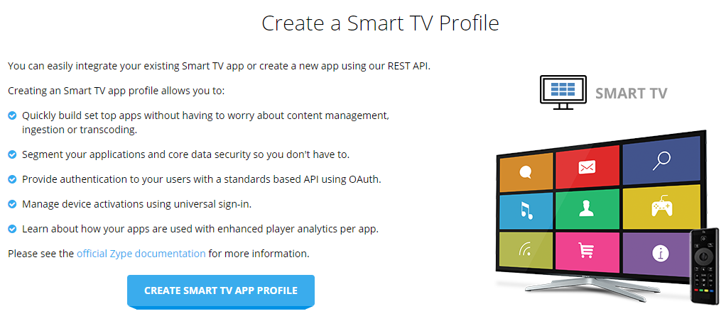 Creating a Smart TV App for Delivering Content – Help Center