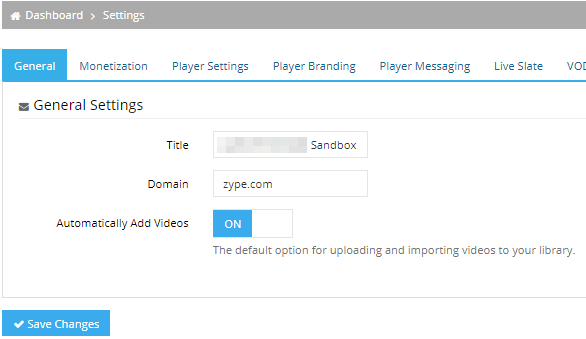 View Account Settings – Help Center