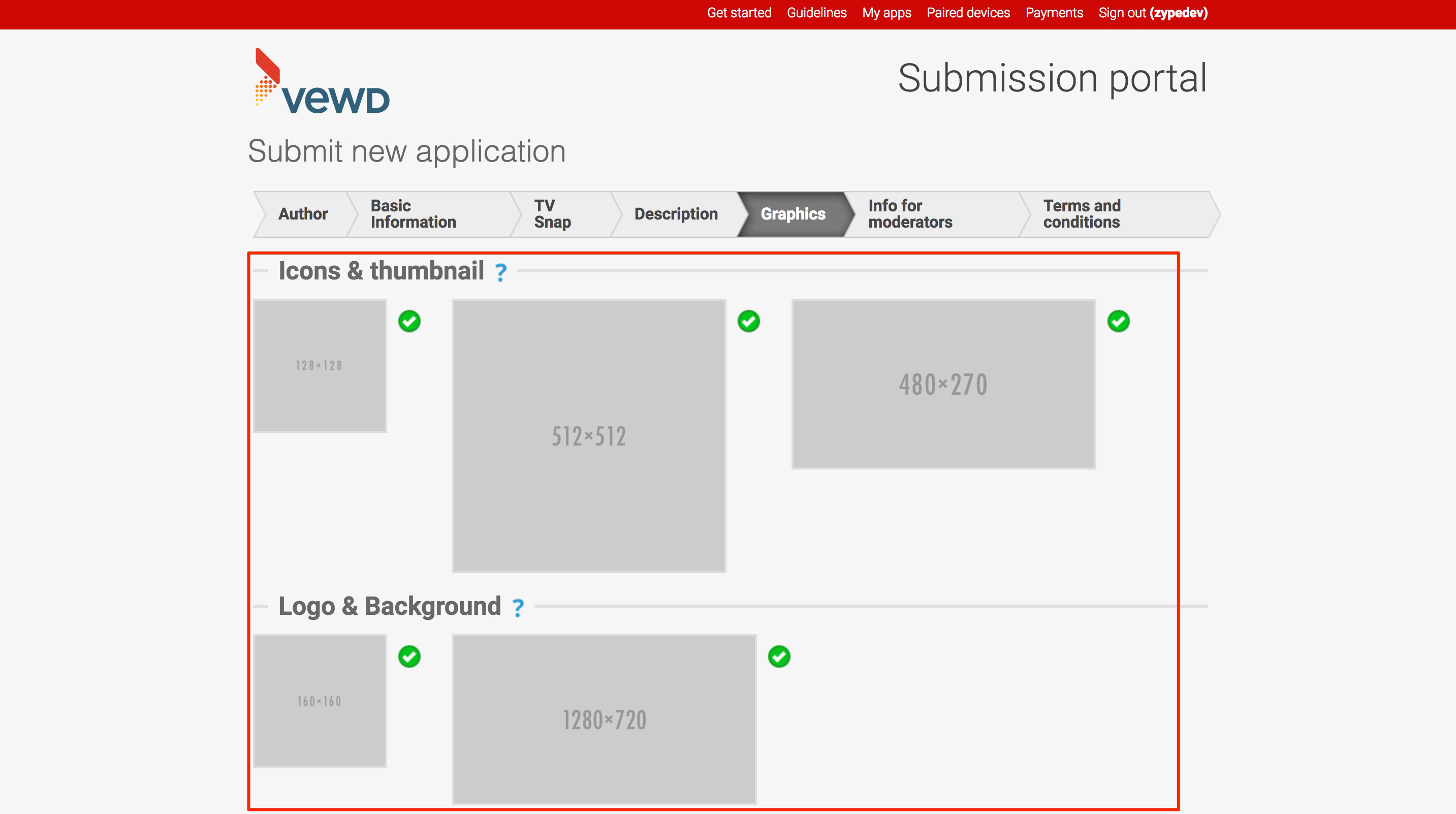 Submitting Your Vewd App – Help Center