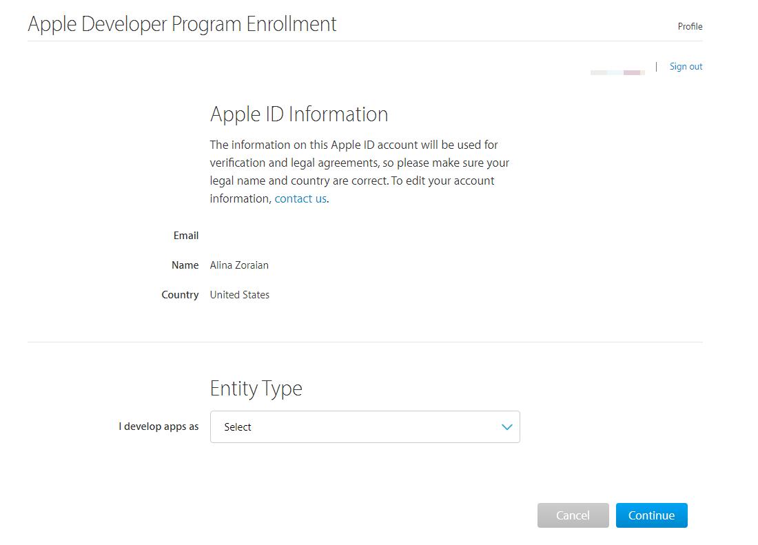 Apple Developer Account Setup – Help Center